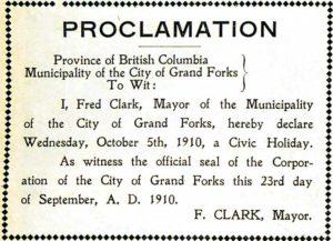 holiday_proclomation_oct_5_1910